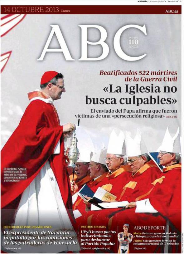 beatificaciones Tarragona 2013 abc