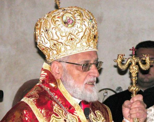 patriarca Gregorio-III Siria