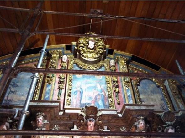 retablo iglesia Nemenzo
