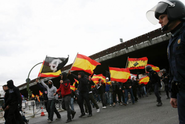 Mani neo nazi Madrid