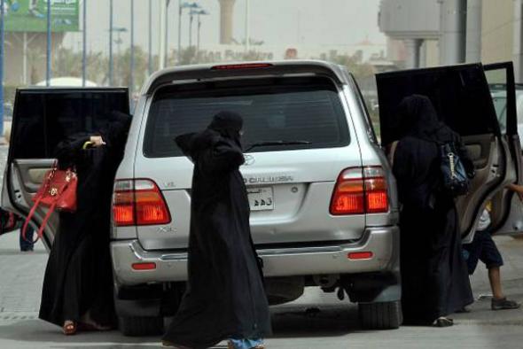 mujer conduce Arabia