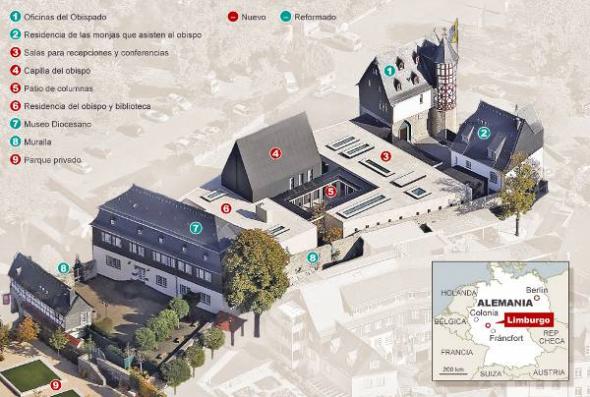 obispado de lujo Limburgo Alemania
