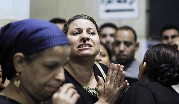ataque boda cristiana Egipto