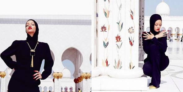 fotos Rihanna mezquita