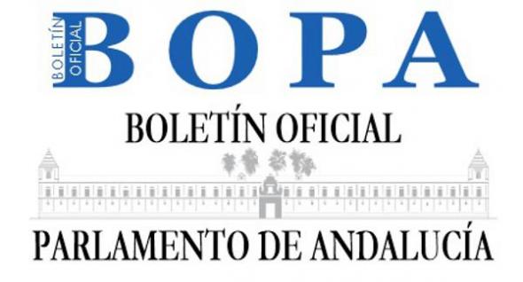 Boletín Parlamento de Andalucía
