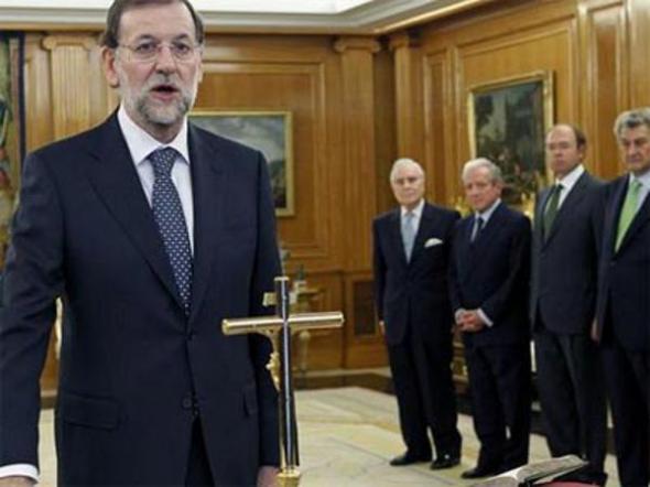 toma posesión Rajoy 2011