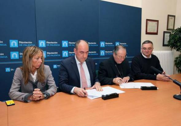 Convenio Diputación-Obispado Palencia 2013