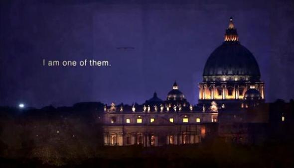 Vaticano de noche