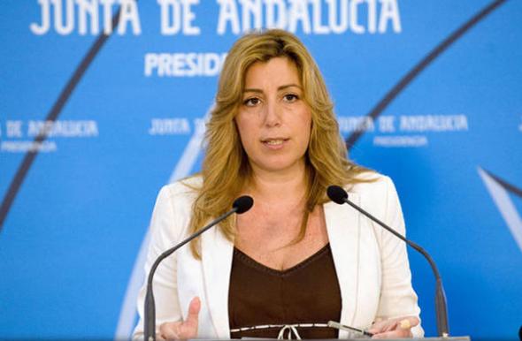Susana Diaz presidenta Andalucía