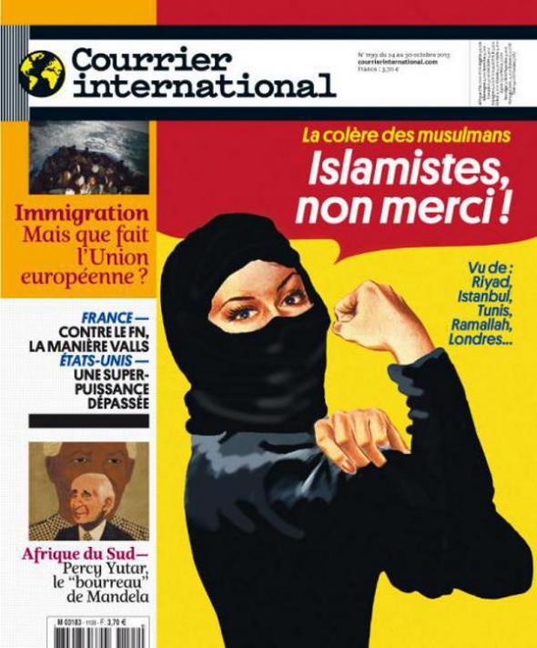 revista Courrier International Islamistas no