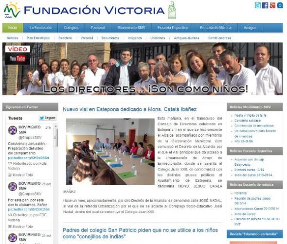 Fundación Victoria obispado Málada