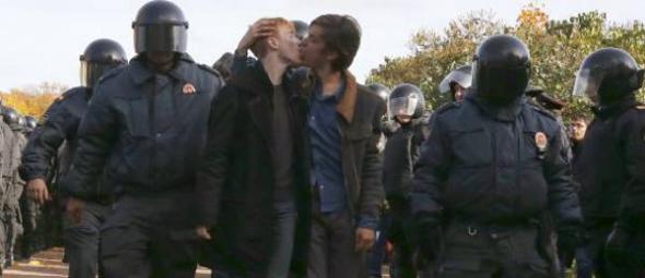 gais rusos detenidos