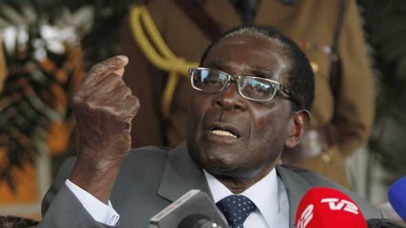 Mugabe presidente Zimbabue