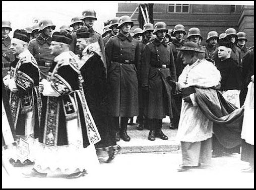 Cardenal Bertram y nazis