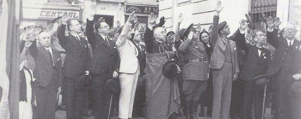 Obispo franquista Badajoz 1936