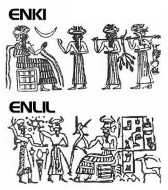 Enki dios sumerio