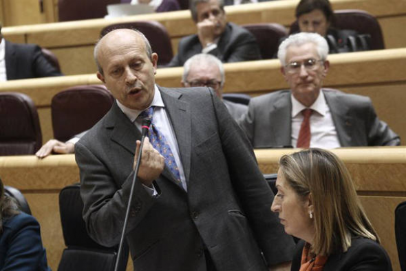 Wert y la LOMCE Senado