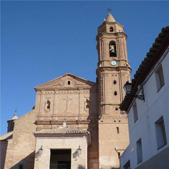 iglesia Híjar - Teruel