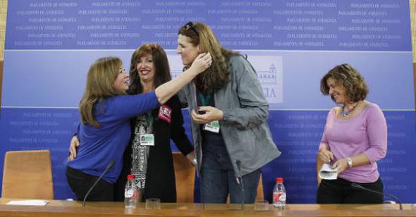 transexuales y parlamentarias Andalucía