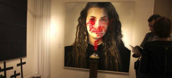 exposición atacada Roma 2013