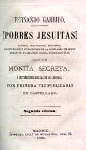 libro ¡Pobres Jesuitas!