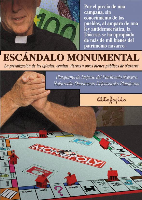libro Escandalo Monumental