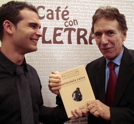 Henri Peña y César Tejedor presentan Antología Laica 2009