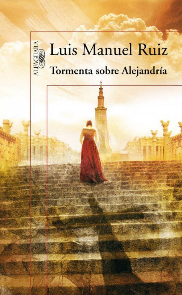 libro Tormenta sobre Alejandría