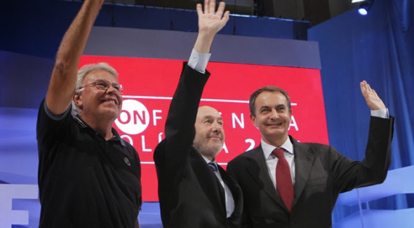 Conferencia Política PSOE Gonzalez Rubalcaba Zapatero