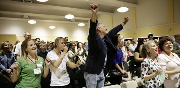 reunión congregación atea USA