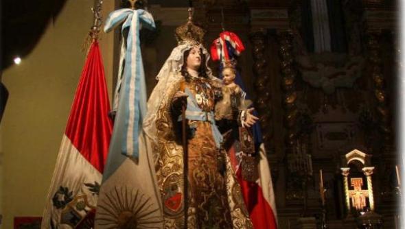 Virgen Carmen patrona Mendoza