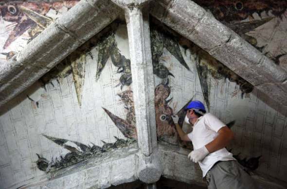restaura iglesia Madrid