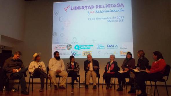 foro Libertad Religiosa y no Discriminación MEX 2013