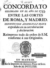 Concordato 1753