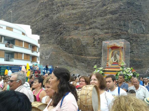 Virgen Guadalupe La Gomera