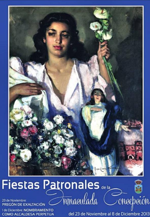 Inmaculada alcaldesa perpetua La Línea 2013