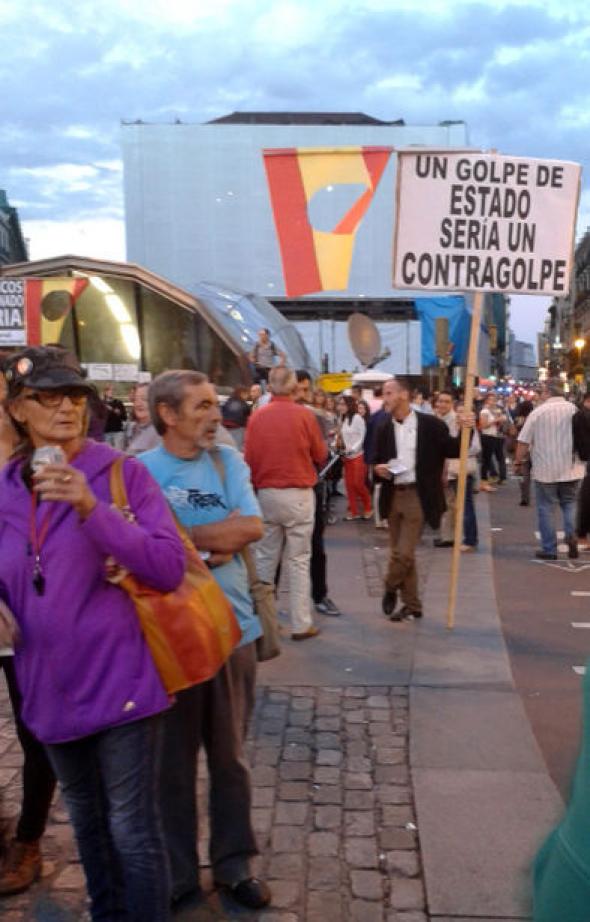 mani 15M Puerta del Sol