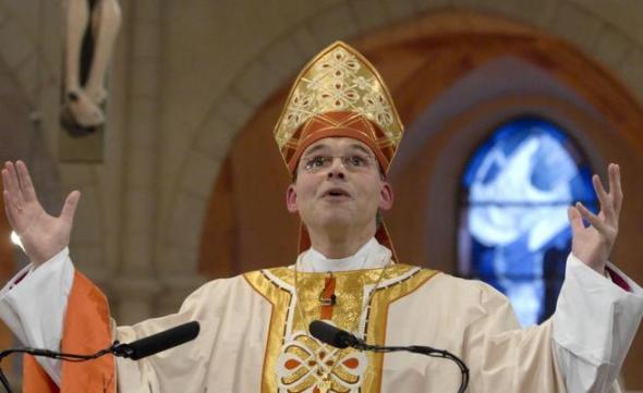 Tebartz obispo alemán lujo
