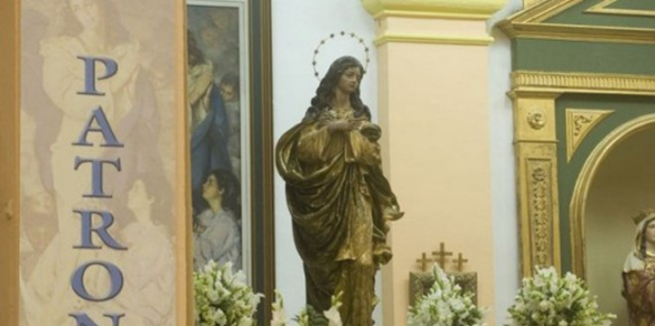 Inmaculada alcaldesa perpetua La Línea