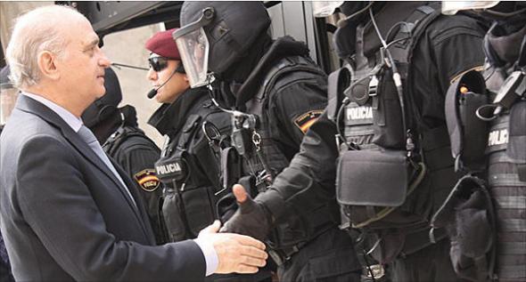 Jorge Fernández ministro Interior 2013