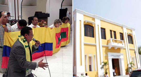 mes de la Biblia en Cartagena