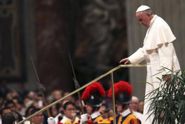 Bergoglio en audiencia