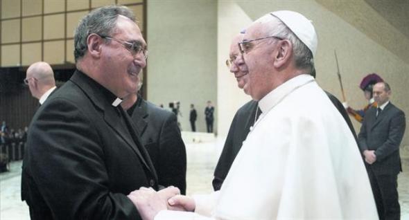Gil Tamayo CEE y Bergoglio