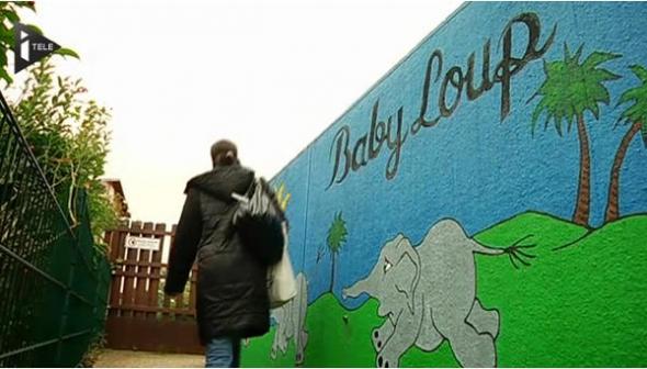 guardería Baby Loup velo Francia