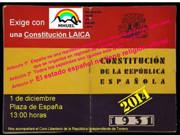 MHUEL Zaragoza Dia Constitución 2013