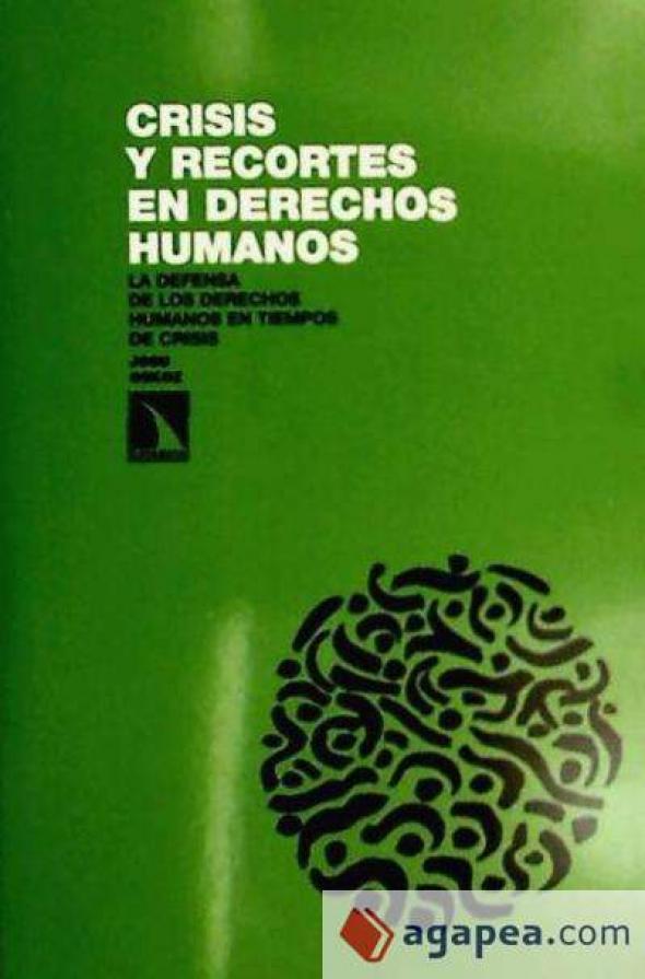 Libro Crisis y recortes en derechos humanos
