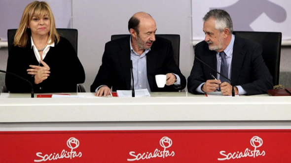 Valenciano_Rubalcaba_Griñán PSOE