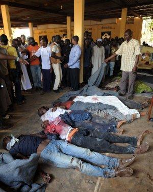 cadáveres mezquita centroafricana