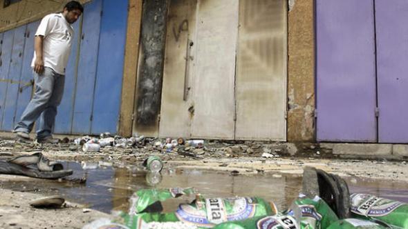 ataques licorerias Iraq 2013