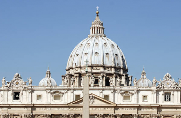 Vaticano cúpula Basílica San Pedro